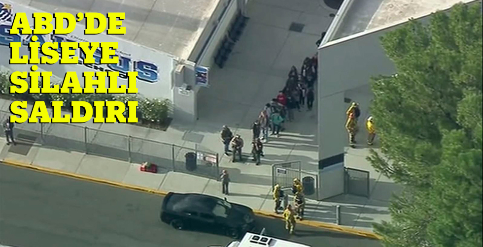 Californiya'da lisede silahlı…