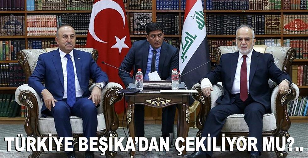 Türkiye Beşika'dan çekiliyor…