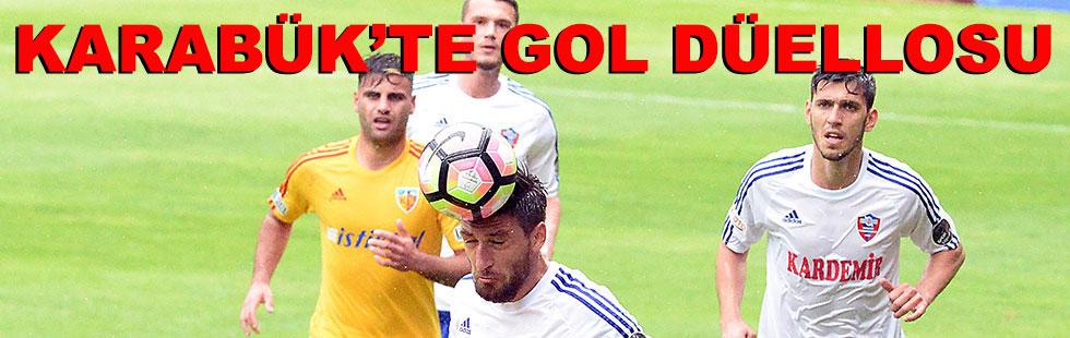 Karabük'te gol düellosu: 2 -…