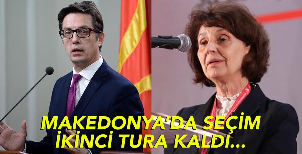 Makedonya'da seçim ikinci tura…