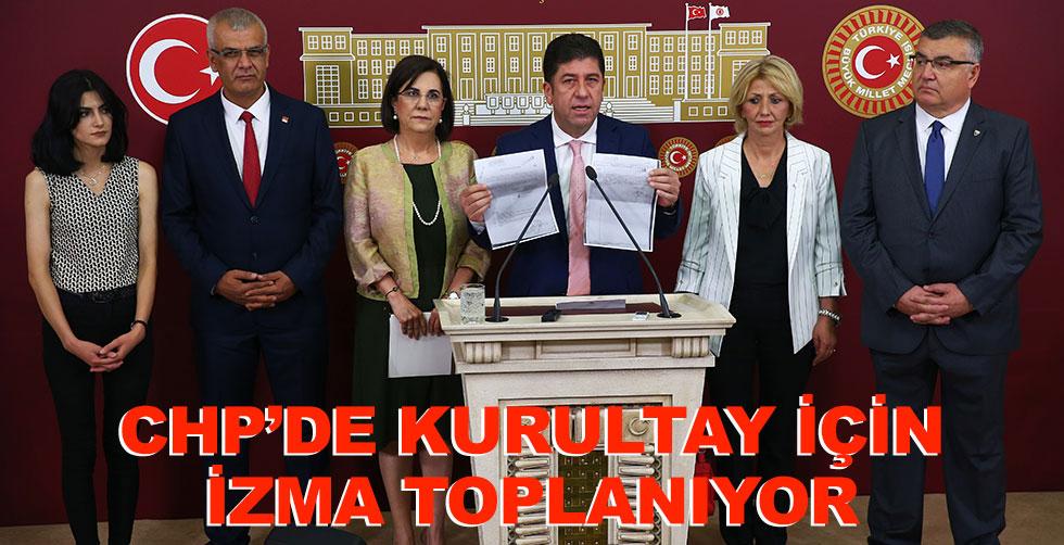 CHP'de Kurultay için imza toplanıyor