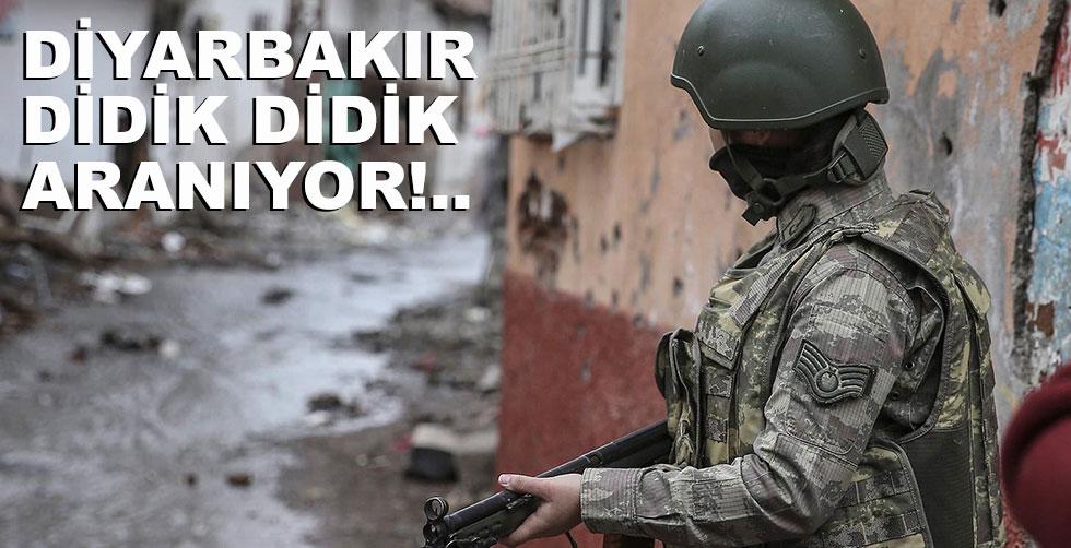 Diyarbakır didik didik aranıyor!..