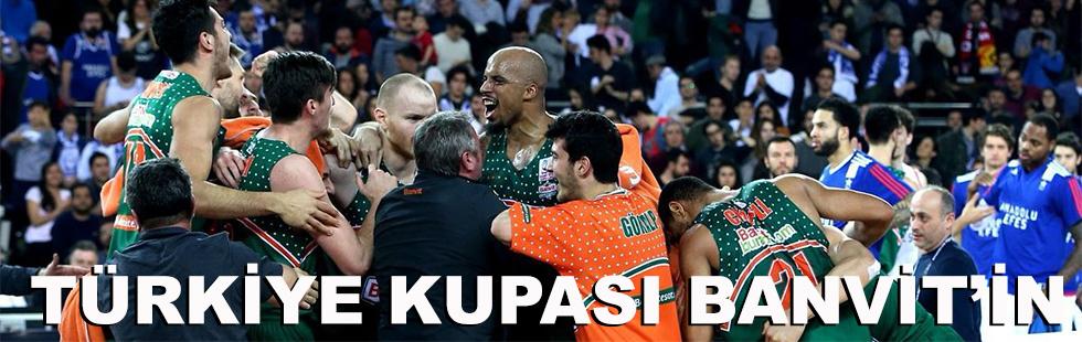 Türkiye Kupası'nda şampiyon…