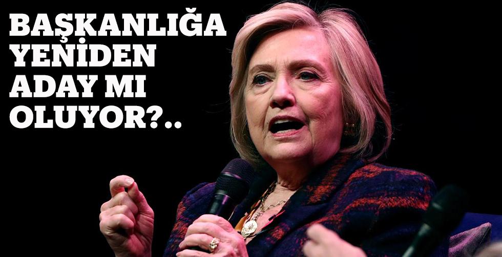 Hillary Başkanlığa aday olmayı…