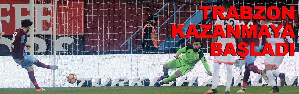 Trabzon kazanmaya başladı: 4 - 1