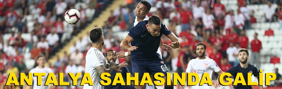 Antalya sahasında galip: 2 - 1