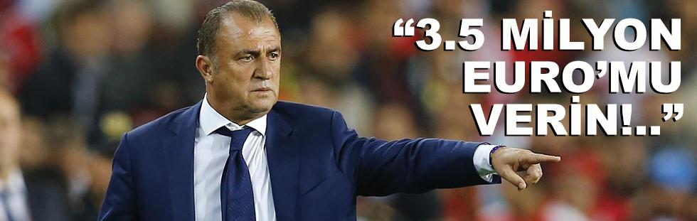 Fatih Terim 3.5 milyon Euro'sunu…