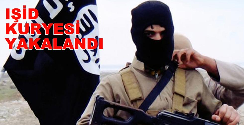 IŞİD kuryesi yakalandı!..