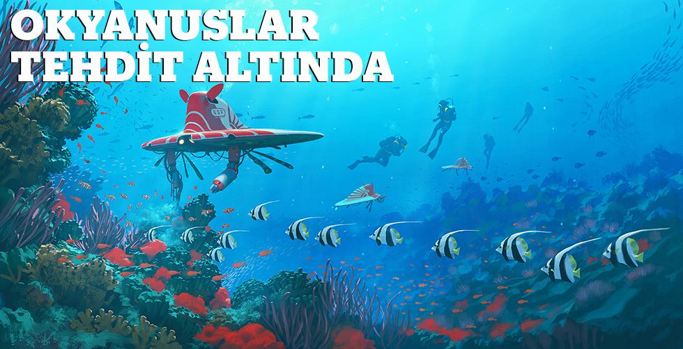 Oksijenin azalması okyanusları tehdit…