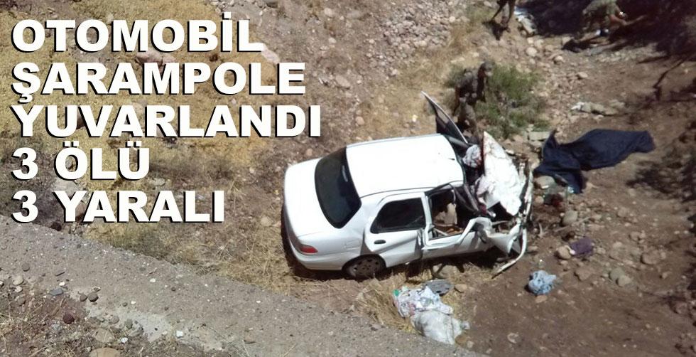Korkunç kaza!.. 3 ölü, 3 yaralı!..
