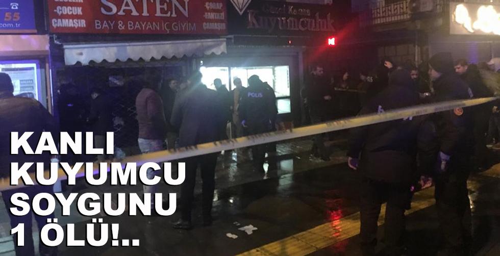 Başkent'te kanlı kuyumcu soygunu,…