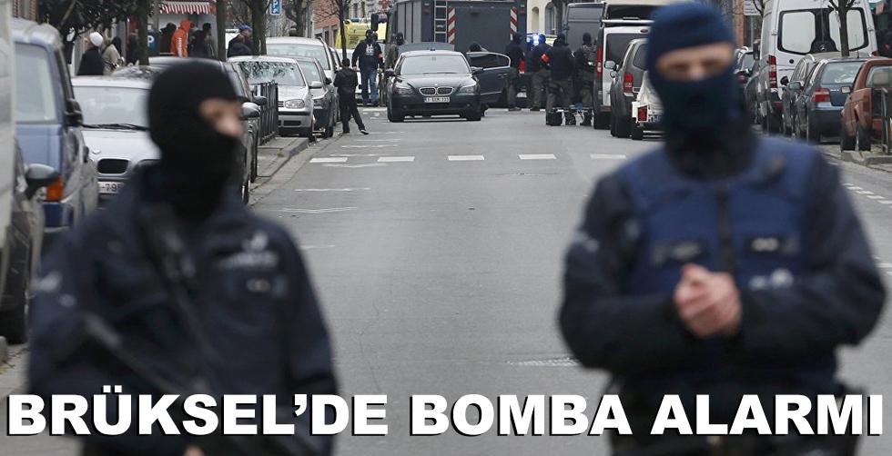 Brüksel'de bomba alarmı!..