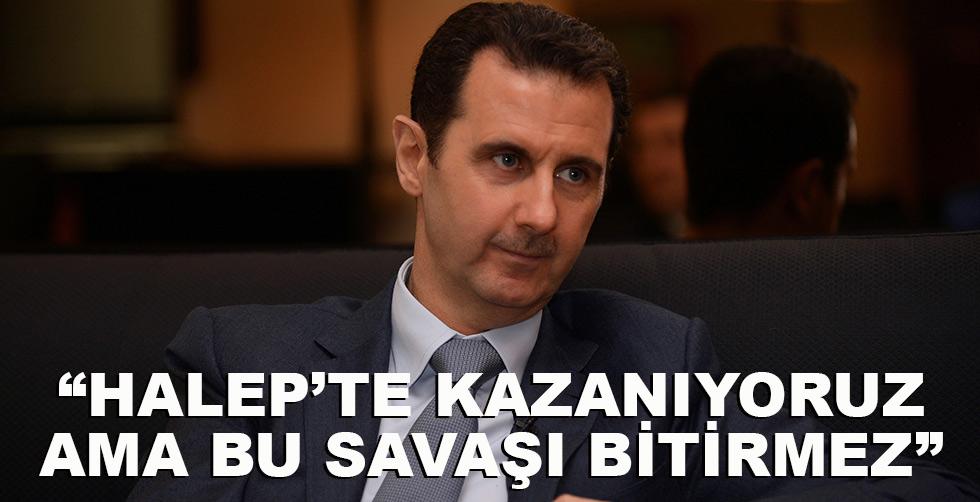 """Esad: """"Halep'te kazanıyoruz…"""