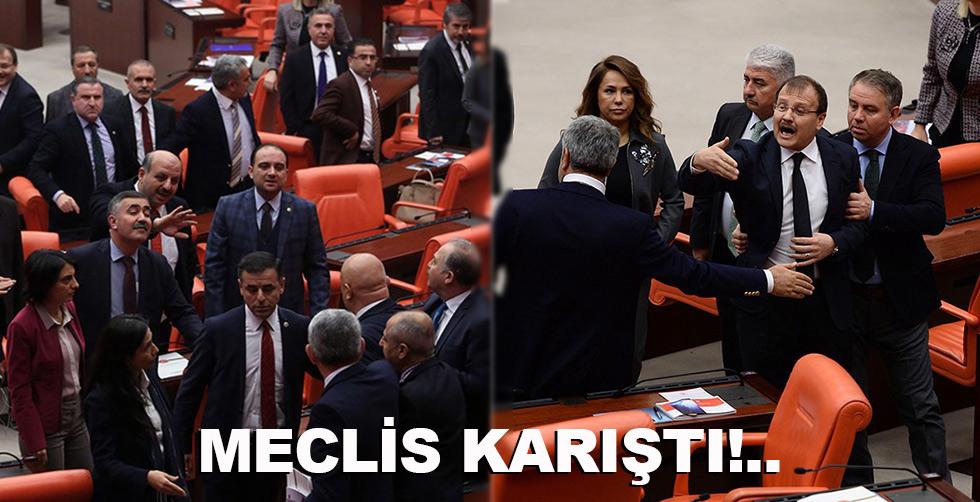 Meclis gene karıştı!..