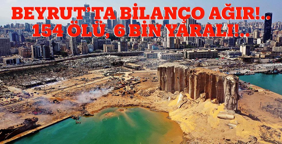 Beyrut'ta bilanço ağır!.. 154…