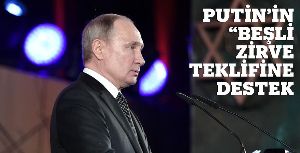 """Putin'in """"beşli zirve""""…"""