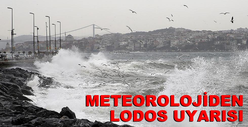 Meteorolowjiden lodos uyarısı!..