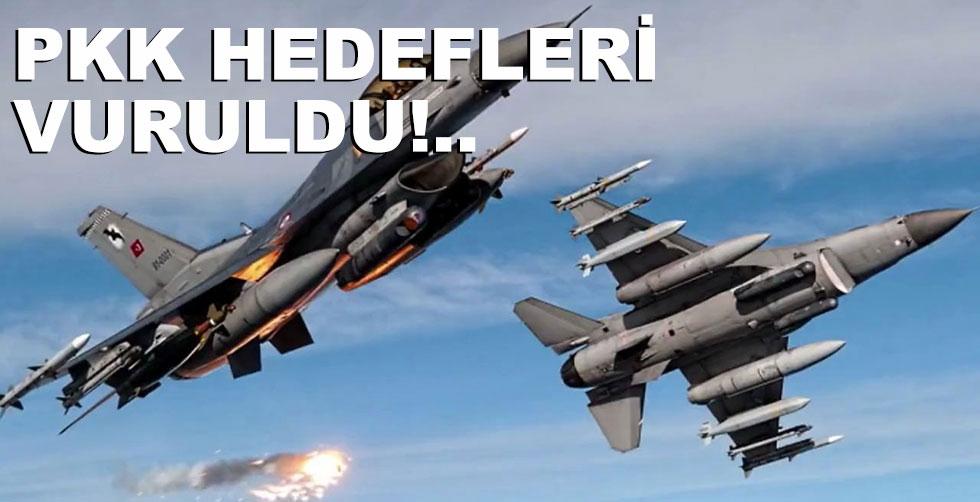 PKK hedefleri vuruldu!..