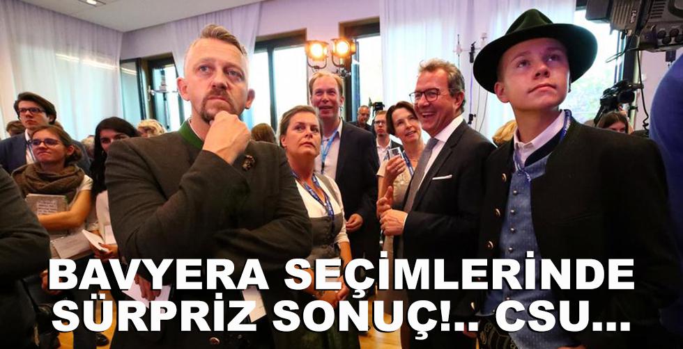 Bavyera seçimlerinde sürpriz sonuc!..