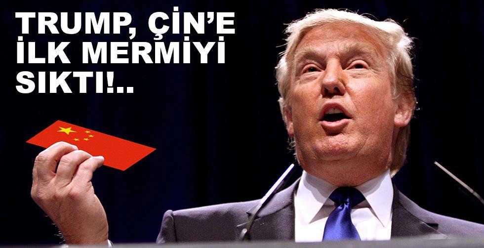 Trump Çin'e karşı savaşı başlattı!..