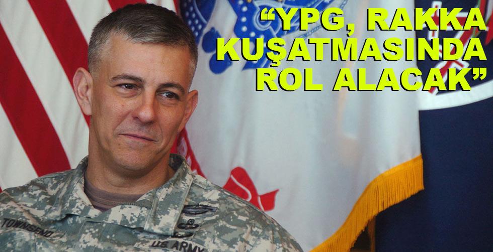 """ABD açıkladı: """"YPG Rakka kuşatmasında…"""