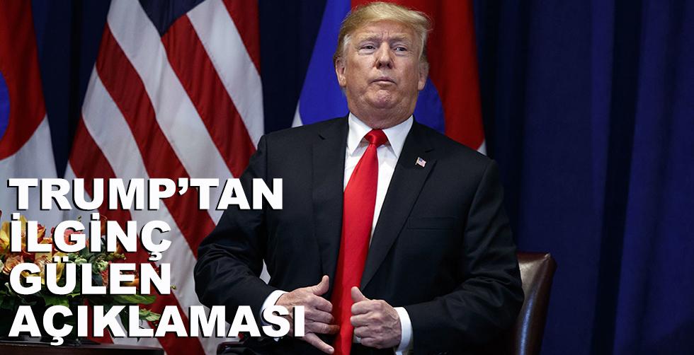 Trump'tan ilginç Gülen açıklaması!..