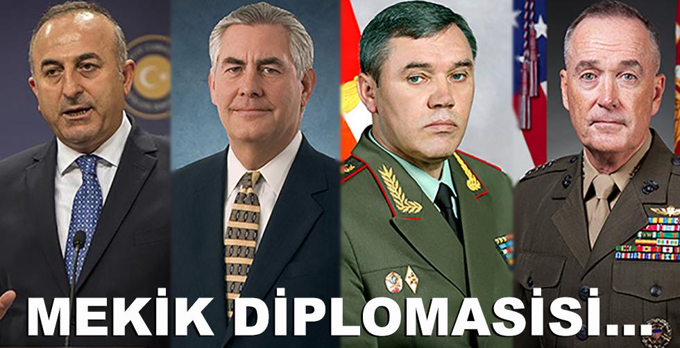 Harekat sonrası mekik diplomasisi…