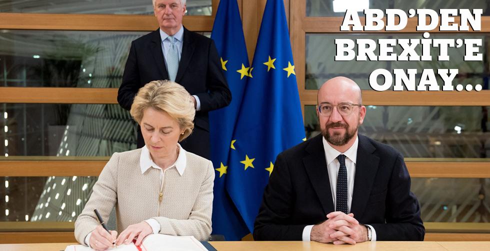 AB'den Brexit'e onay...