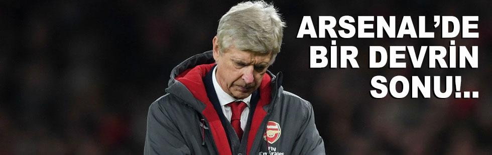 Arsenal'da bir devir sona eriyor
