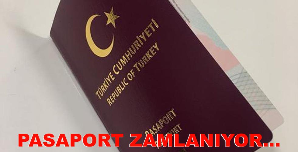 Pasaport ücretlerine zam geliyor...