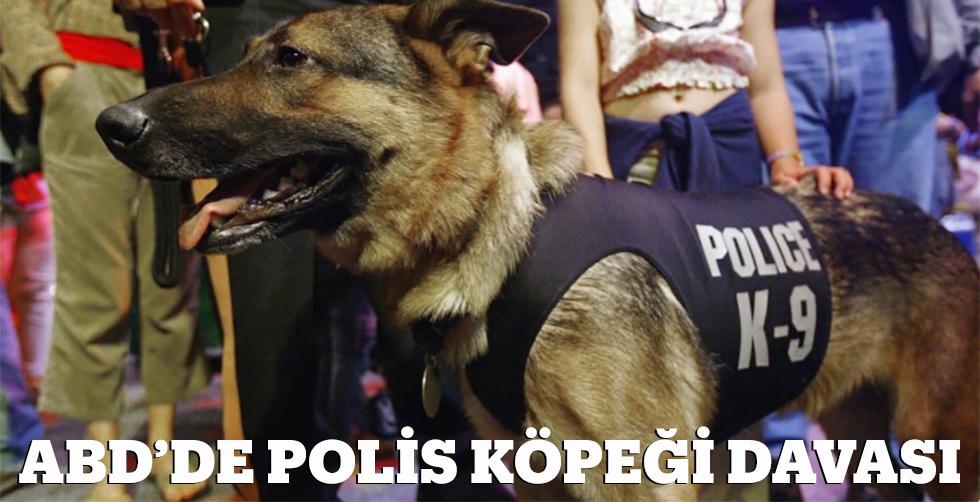 ABD'de polis köpeği davası...