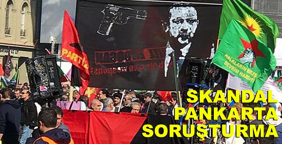 İsviçre skandal pankartla ilgili…