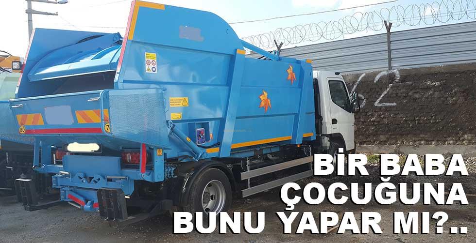 4 yaşındaki çocuğunu presli çöp…