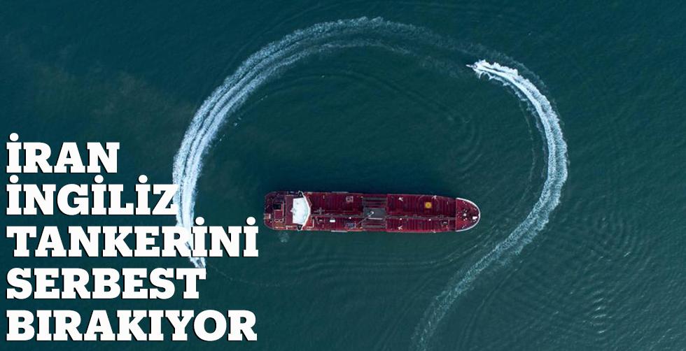 İran İngiliz tankerini serbest bırakıyor