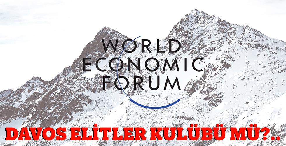 Davos zirvesi bir elitler kulübü…