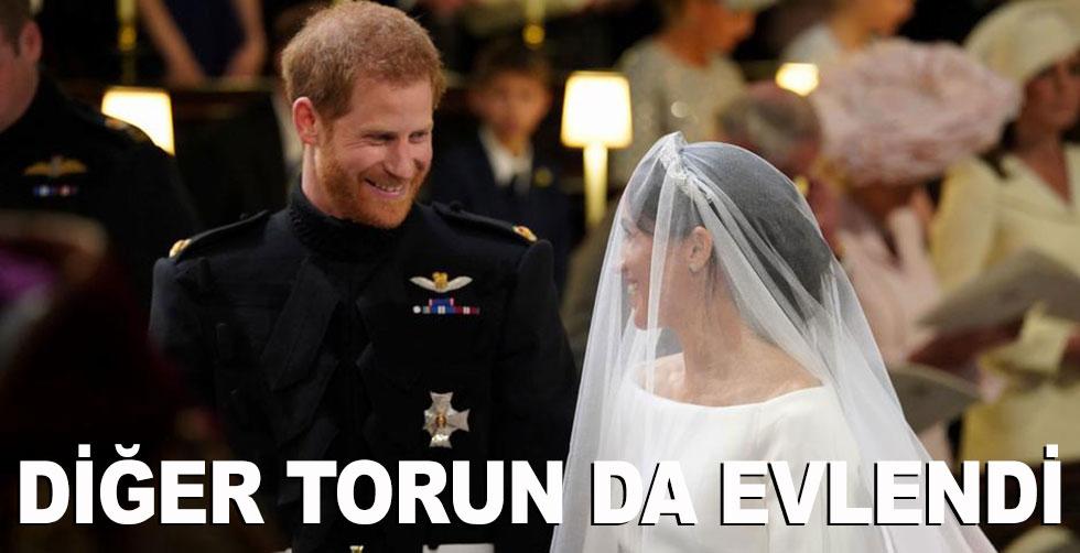 Diğer torun da evlendi