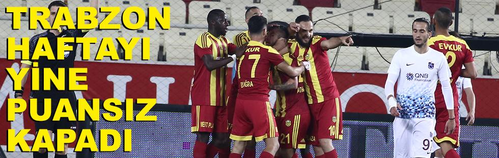 Trabzon haftayı yine puansız kapadı:…