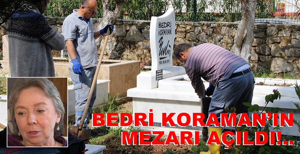 Ünlü karikatüristin mezarı açıldı