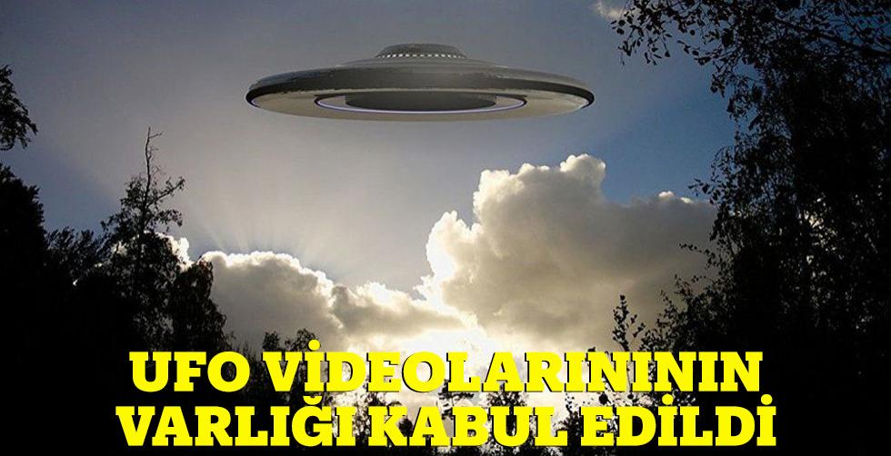 ABD Donanması, ilk kez 'UFO'…