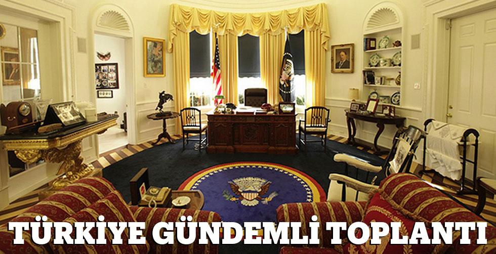 Beyaz Saray'da Türkiye gündemli…