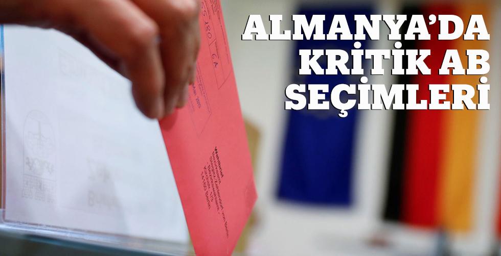 Almanya'da Kritik AP Seçimleri
