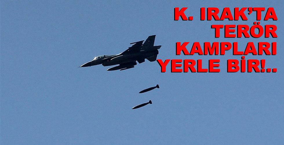 K. Irak'a hava operasyonu!..