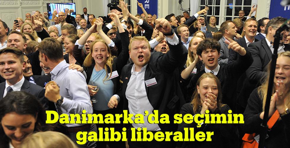 Danimarka'da seçimin galibi liberaller