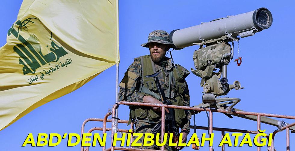 ABD'den Hizbullah atağı!..