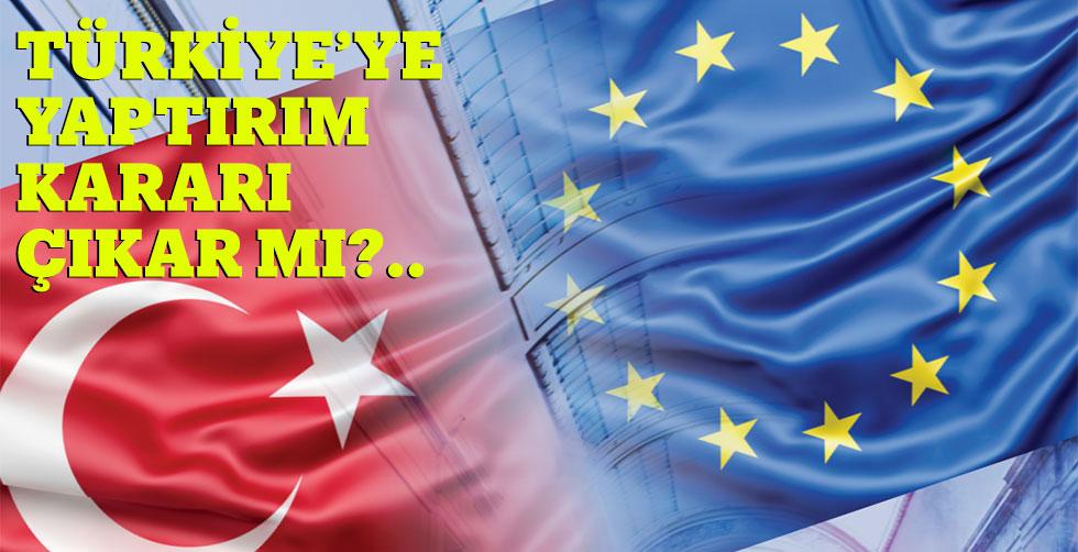 Türkiye'ye yaptırım kararı…