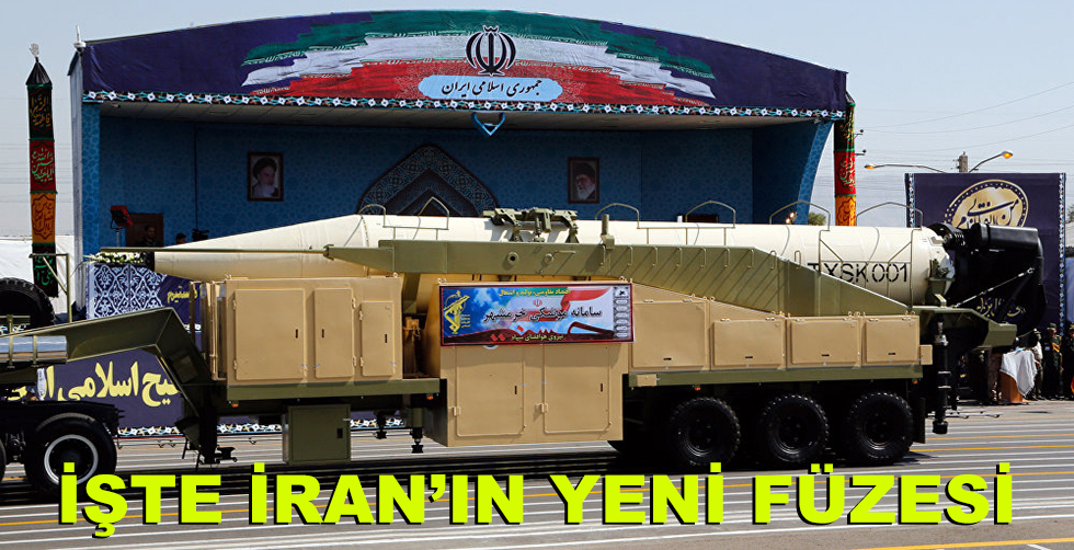 İran, 2000 km menzilli yeni füzesini…