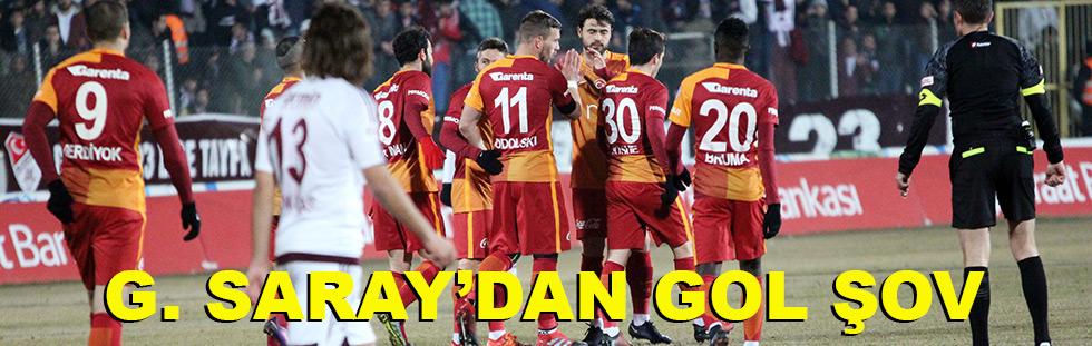 G. Saray'dan gol şov: 4 - 1