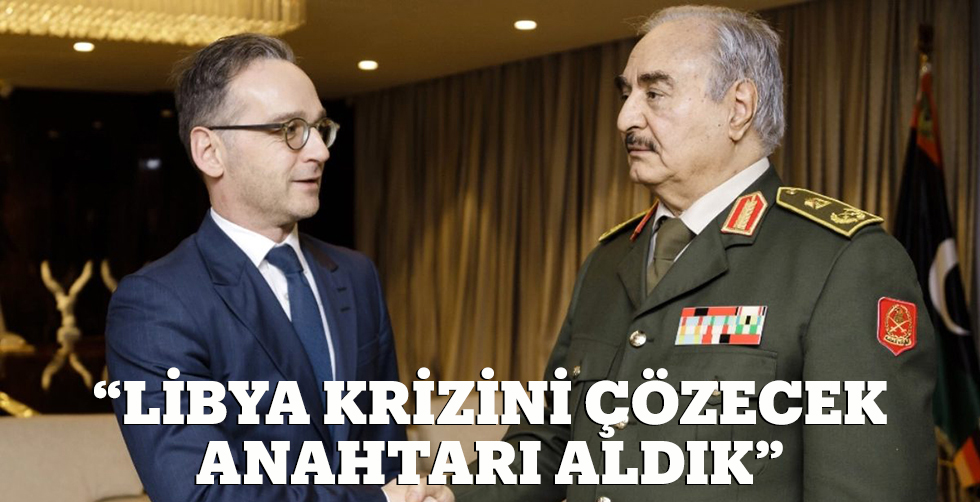 """""""Libya ihtilafını çözecek anahtarı…"""