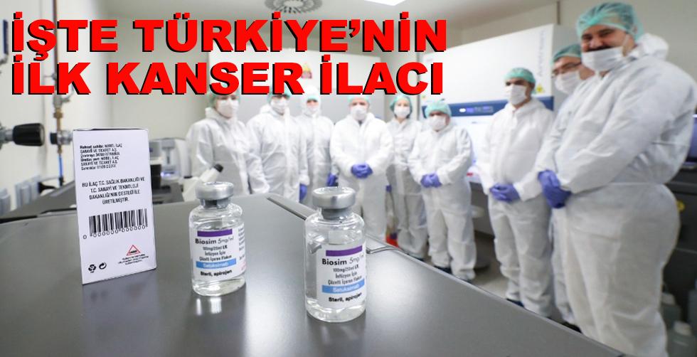 İşte Türkiye'nin ilk yerli kanser…
