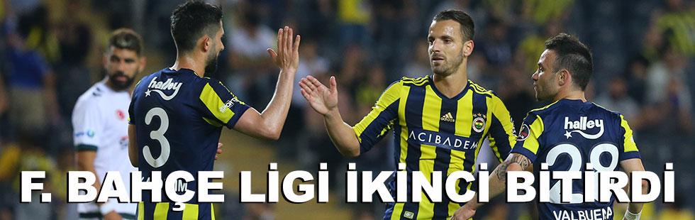 Lig ikincisi Fenerbahçe: 3 - 2
